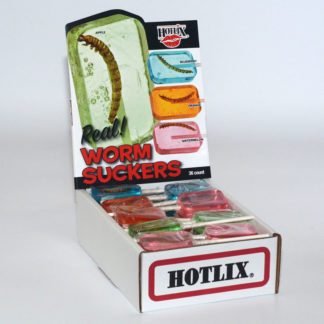 Worm Suckers Box Assorted